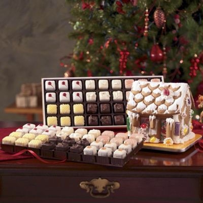 72 Petits Fours Plus Free Donated Gingerbread House