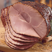 Spiral Sliced Ham with Fired in Sugar Glaze