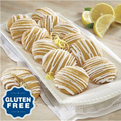 Gluten Free Lemon Drop Cookies