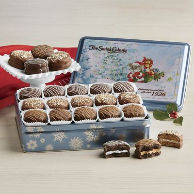 Chocolatey Sandwich Cookies