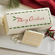 Vanilla Christmas Torte