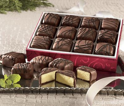 Chocolate-Covered Cheesecake Treats