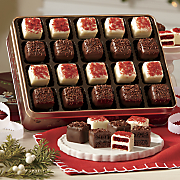 red velvet   chocolate mini petits fours