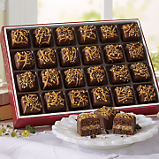 German Chocolate Petits Fours