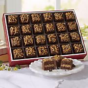 german chocolate petits fours