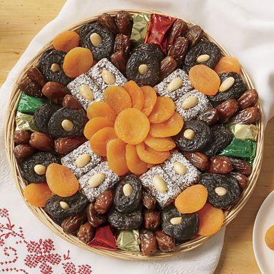 Fruit and Almonds Tray