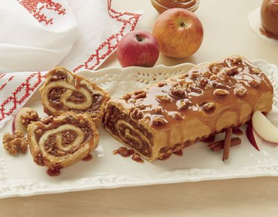 Caramel Apple Roll