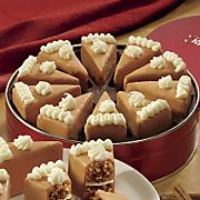 pumpkin pie slices