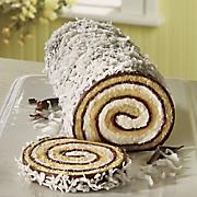 chocolate coconut swirl cake