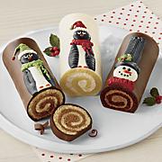 Christmas Swirl Cake Trio