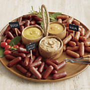 snack bits with mustards