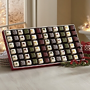 Hand-Decorated Christmas Petits Fours