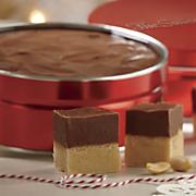Chocolate-Peanut Butter Layered Fudge