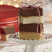 Chocolate-Vanilla Layered Fudge