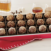 liqueur fudge balls