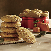 Walnut Oatmeal Pumpkin Cookies
