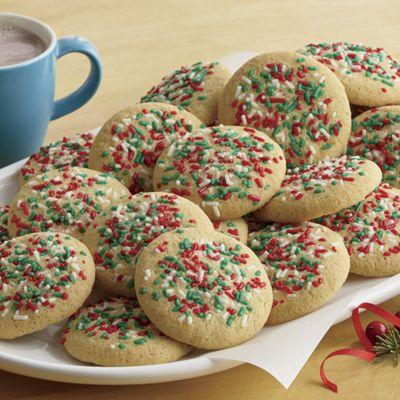 Gluten-Free Vanilla Christmas Cookies
