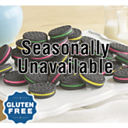 gluten free rainbow sandwich cookies