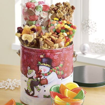 Holiday Snacks Pail