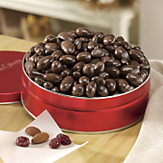 dark chocolate almonds cranberries