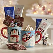 Cocoa Mugs with Treats