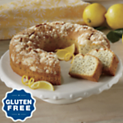 Gluten-Free Lemon Poppyseed Bundt Cake