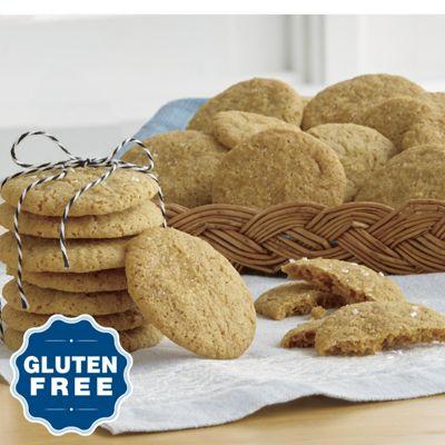 Gluten-Free Sugar Crisp Cookies
