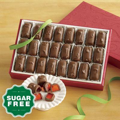 Sugar-Free Milk Chocolatey Orange Jellies