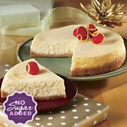 No Sugar Added Vanilla Cheesecake