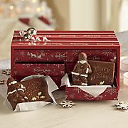 Chocolate Santa Cards