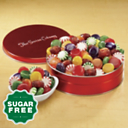 sugar free gala candy mix gift tin