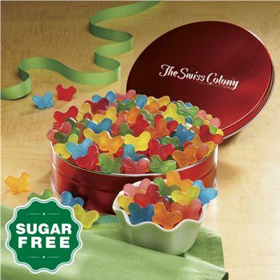 Sugar-Free Gummy Butterflies Gift Tin