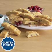 Gluten-Free Orange-Cranberry Biscotti