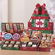 Postpaid Christmas Food Gift Tower