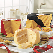 Vintage Cheddar Cheese Big Red Cheddar Cheese and Big Baby Swiss Cheese 1 3 lbs