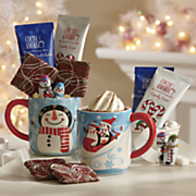 Postpaid Cocoa Mugs with Treats