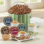 pretzels   cheese spreads 7