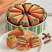 carrot cake pie slices