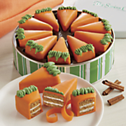 Carrot Cake Pie Slices