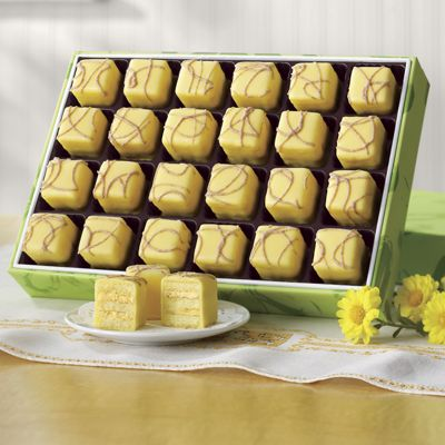 Bananas Foster Petits Fours
