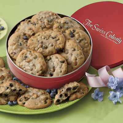 Blueberry Pecan Cookies