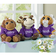 Personalized Hoodie Zoo Animals
