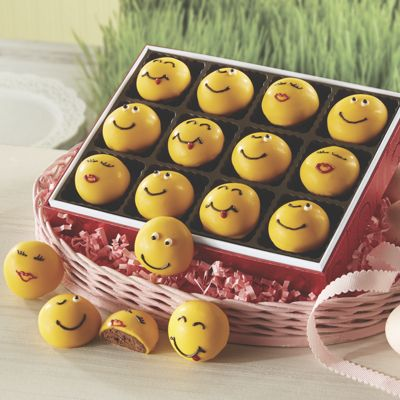 Emoticon Truffles