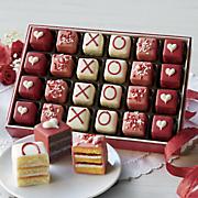 valentine petits fours