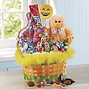 fuzzy chick basket