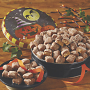 mini butter toffee in halloween tin