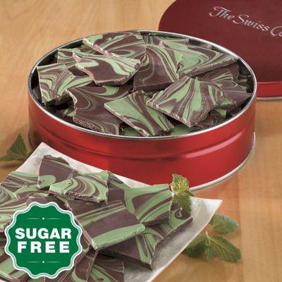 Sugar-Free Mint Bark