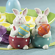 Bunny Salt pepper Shakers S
