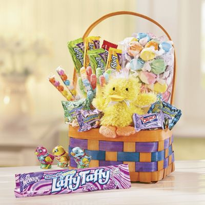 Chickadee Easter Gift Basket