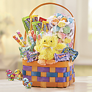 plush playmate basket